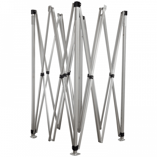 Konštrukcia hliníková rozmer 3x3m