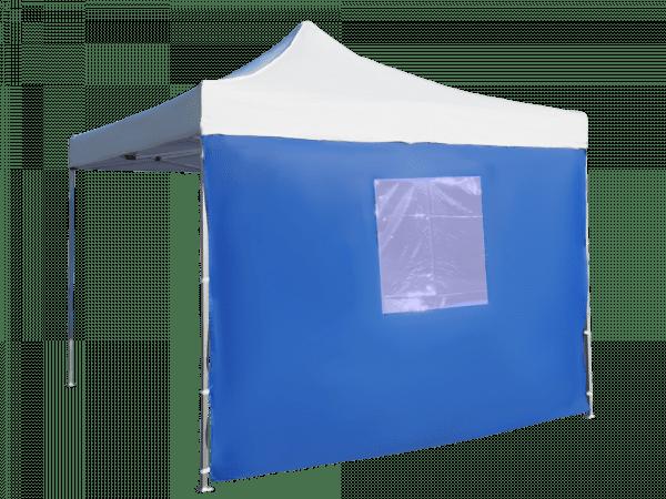 Bočná plachta 3m s oknom - hexagon