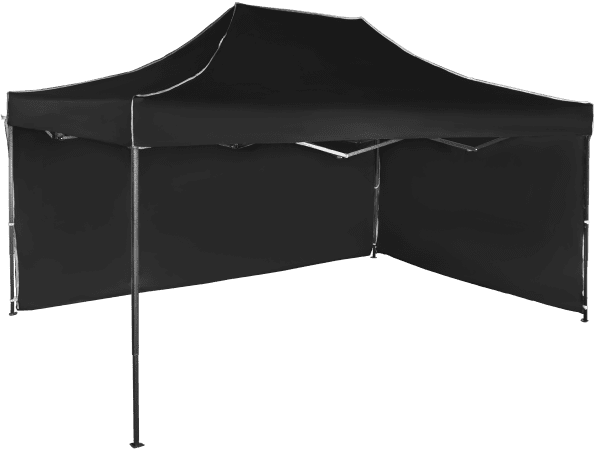 Rýchlorozkladací nožnicový stan 3x4,5m – oceľový