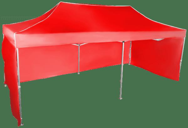 Rýchlorozkladací nožnicový stan 3x6m – hliníkový